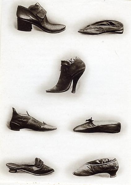 Souvent Jérôme Doucet : Chaussures d'antan (1913) NY91